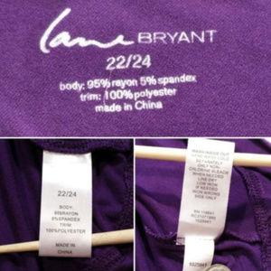Lane Bryant Tops - LANE BRYANT Top Dolman Sleeves Rhinestones 1406E1